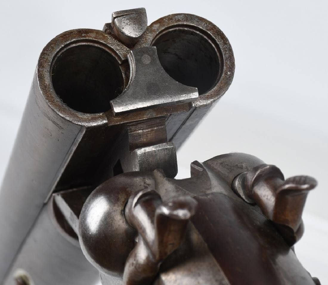 L.C. SMITH / BAKER, SxS, 12 GA. HAMMER SHOTGUN - 9
