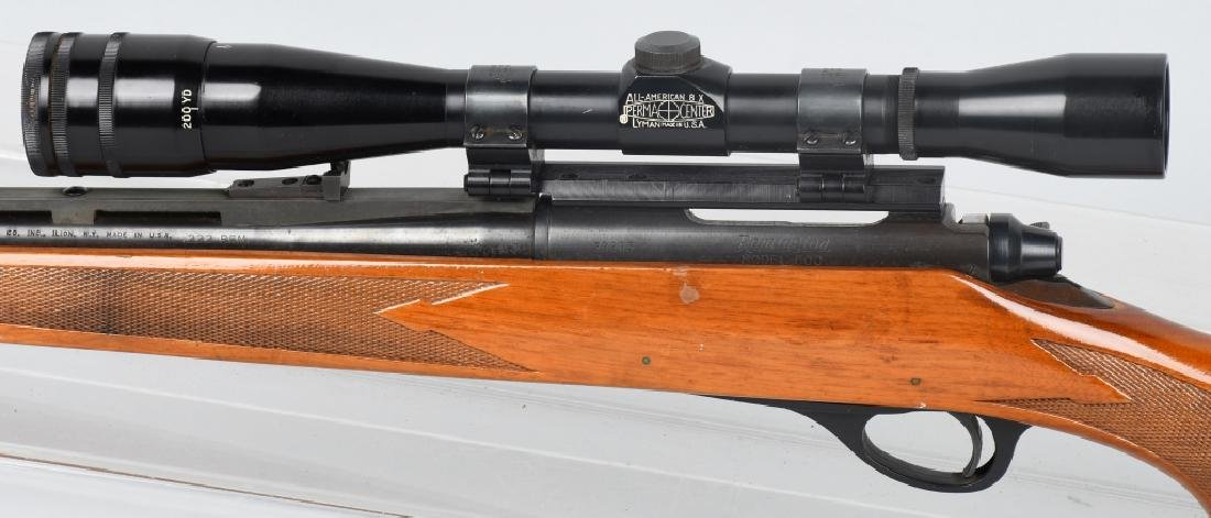REMINGTON MODEL 600, .222 REM. BOLT RIFLE - 6