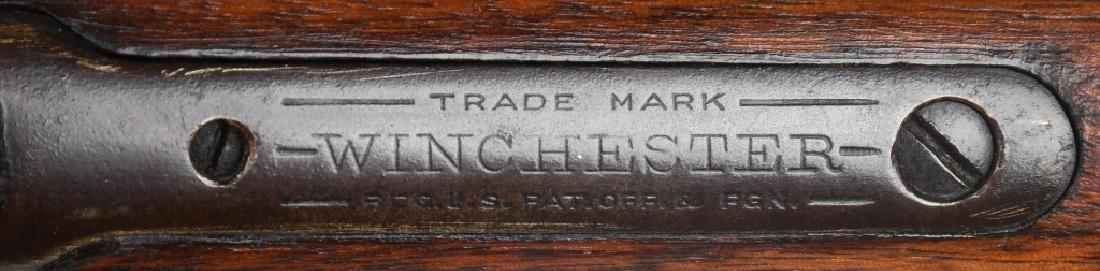 WINCHESTER MODEL 1890, .22 PUMP RIFLE, 1917 - 9