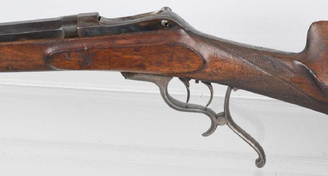 GERMAN MARTINI .44-70 LEVER RIFLE - 6