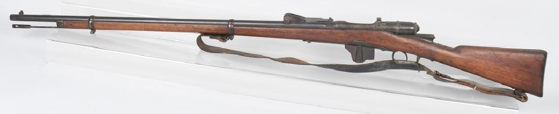 ITALIAN VETTERLI MODEL 1870/87 10.4mm BOLT RIFLE - 6
