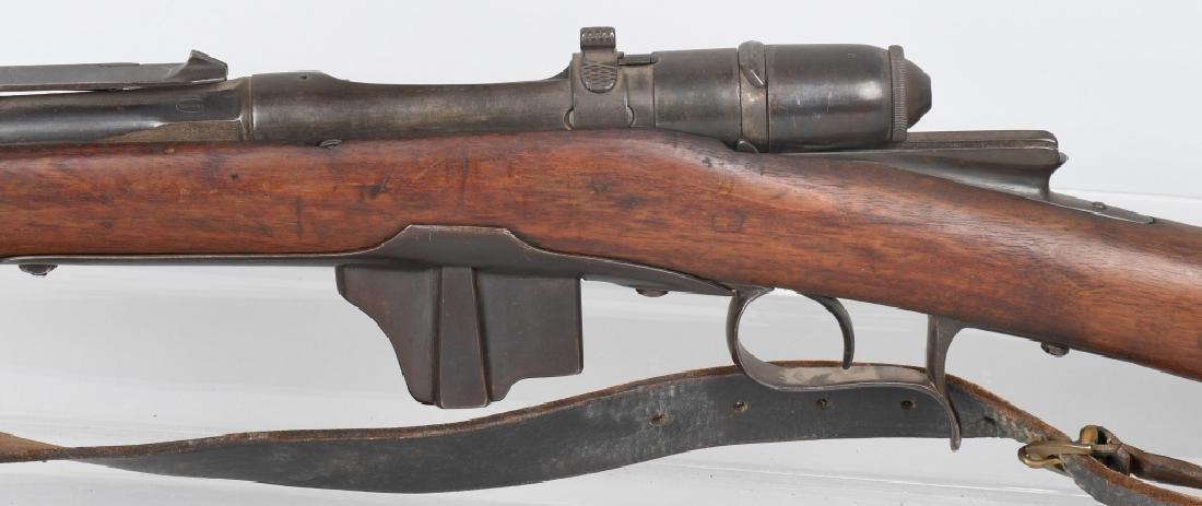 ITALIAN VETTERLI MODEL 1870/87 10.4mm BOLT RIFLE - 7