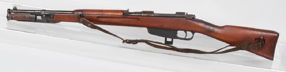 ITALIAN CARCANO MODEL 1938, 7.35 BOLT RIFLE - 4