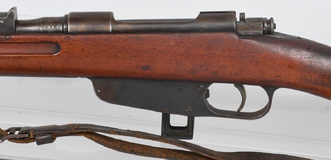 ITALIAN CARCANO MODEL 1938, 7.35 BOLT RIFLE - 5
