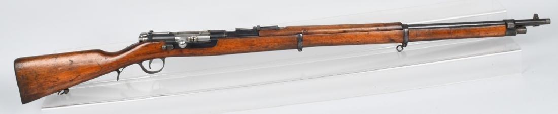 PORTUGUESE MODEL 1886 8x60mm BOLT RIFLE, STEYR