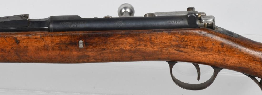 PORTUGUESE MODEL 1886 8x60mm BOLT RIFLE, STEYR - 7