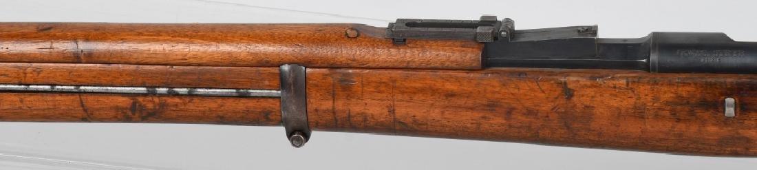 PORTUGUESE MODEL 1886 8x60mm BOLT RIFLE, STEYR - 9