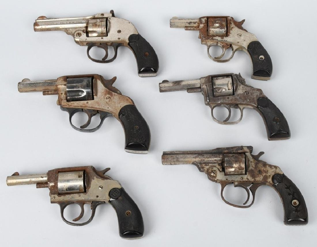 6-REVOLVERS, .32, H & R, FOREHAND, & MORE - 2