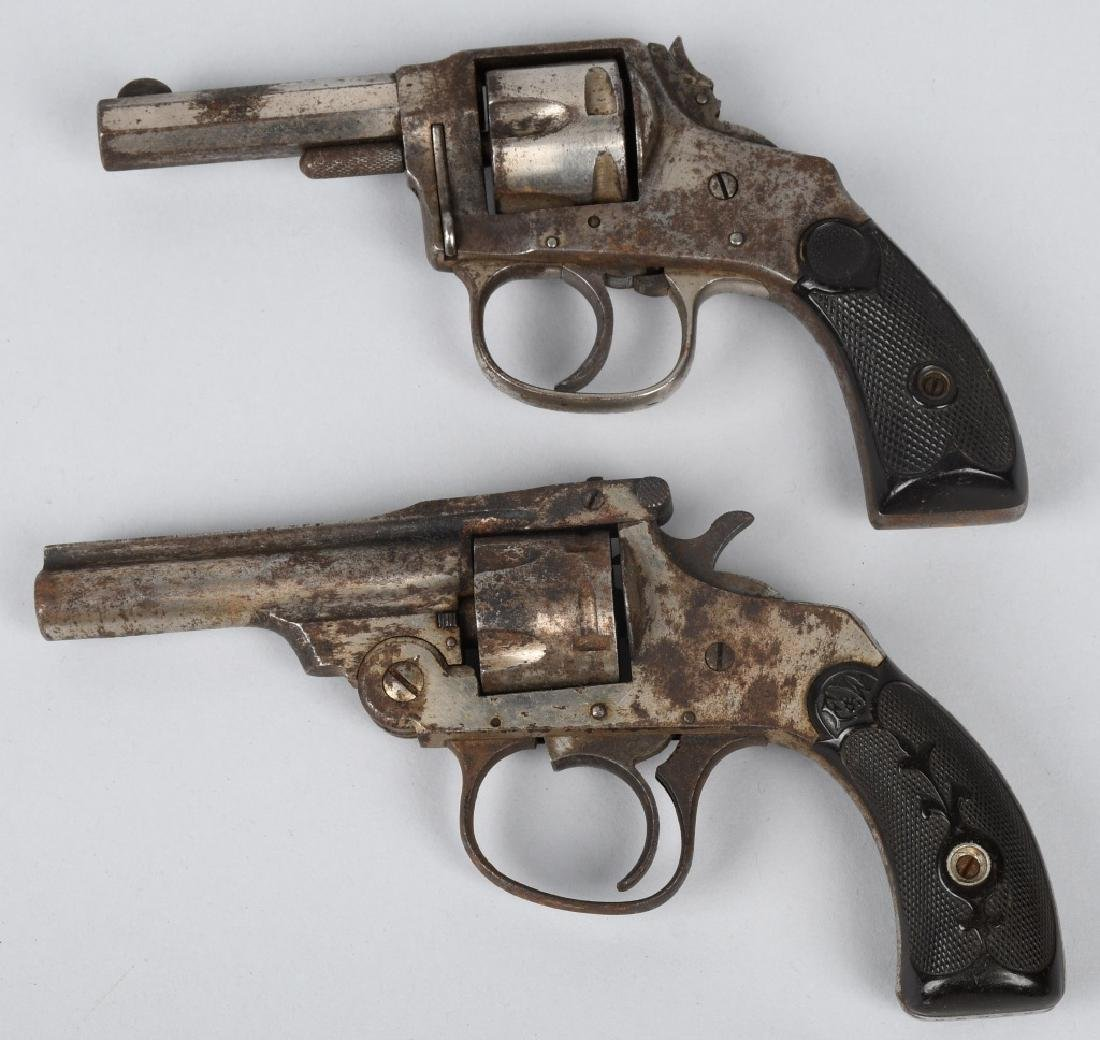 6-REVOLVERS, .32, H & R, FOREHAND, & MORE - 3