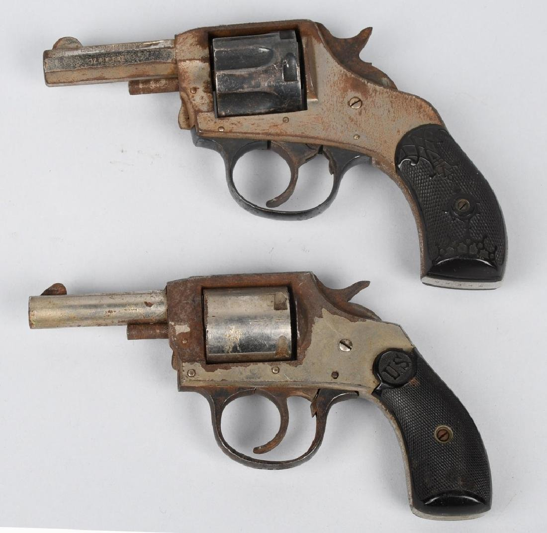 6-REVOLVERS, .32, H & R, FOREHAND, & MORE - 4