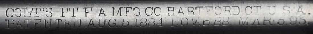 COLT ARMY MODEL 1901 DA .38 REVOLVER - 8