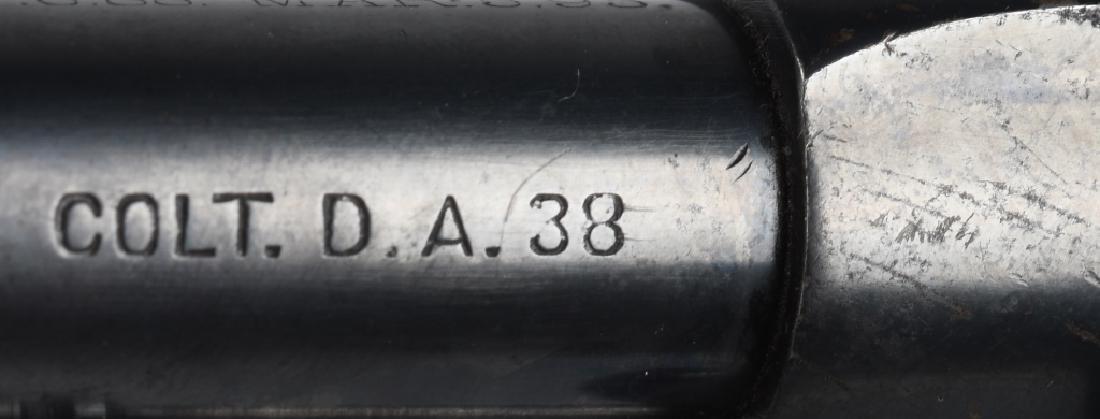 COLT ARMY MODEL 1901 DA .38 REVOLVER - 9