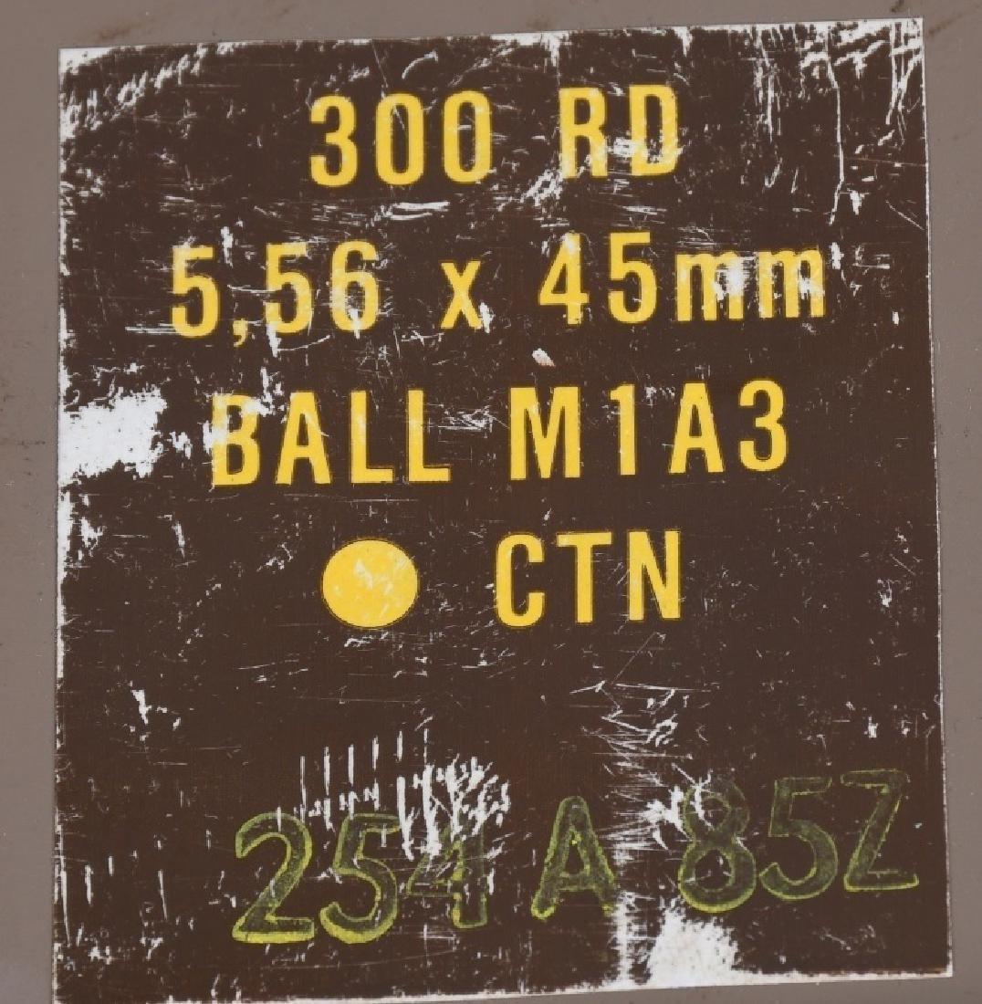 900 ROUNDS 5.56 X 45mm AMMUNITION - 2