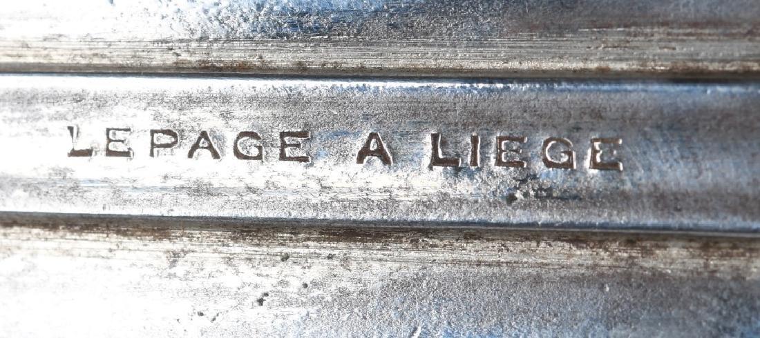 LePAGE A LIEGE DOUBLE BARREL .44 PISTOL - 4