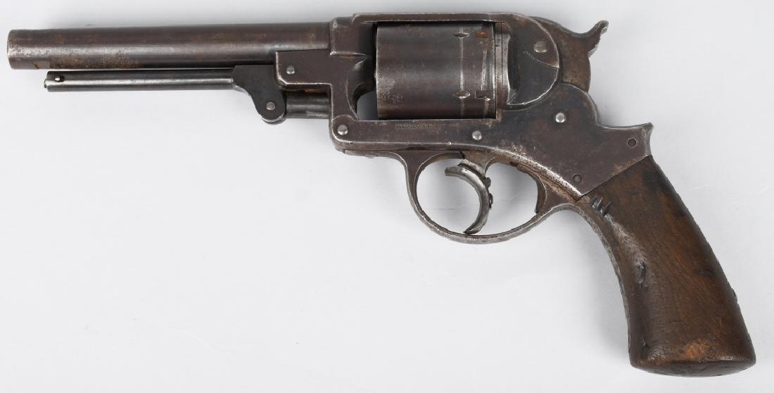 STARR MODEL 1858 DA CONV. 11mm REVOLVER - 2
