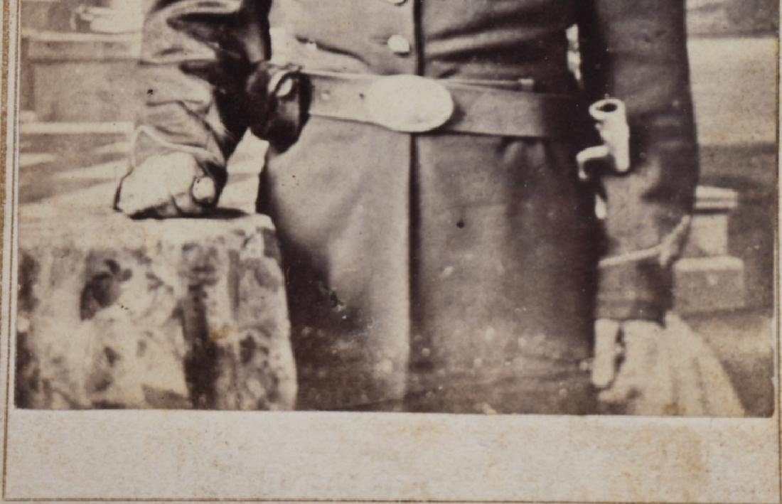 CIVIL WAR SOLDIER CDV LOT - 2 INCLUDING ONE IDED - 4