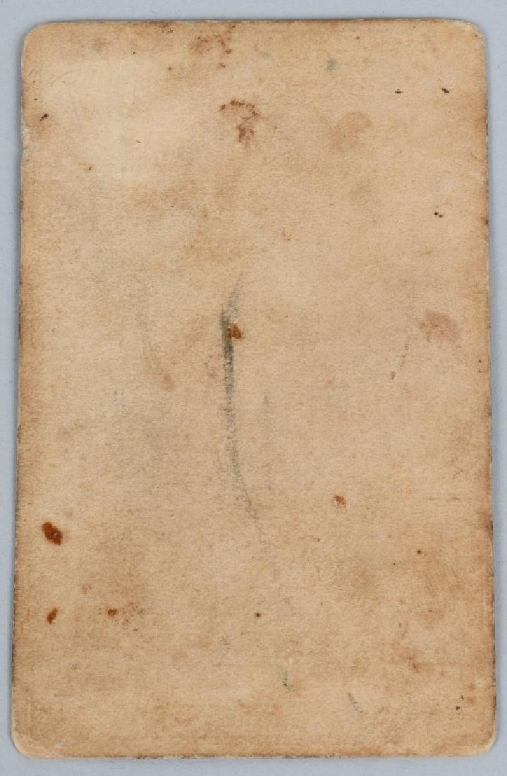CIVIL WAR SOLDIER CDV LOT - 2 INCLUDING ONE IDED - 9