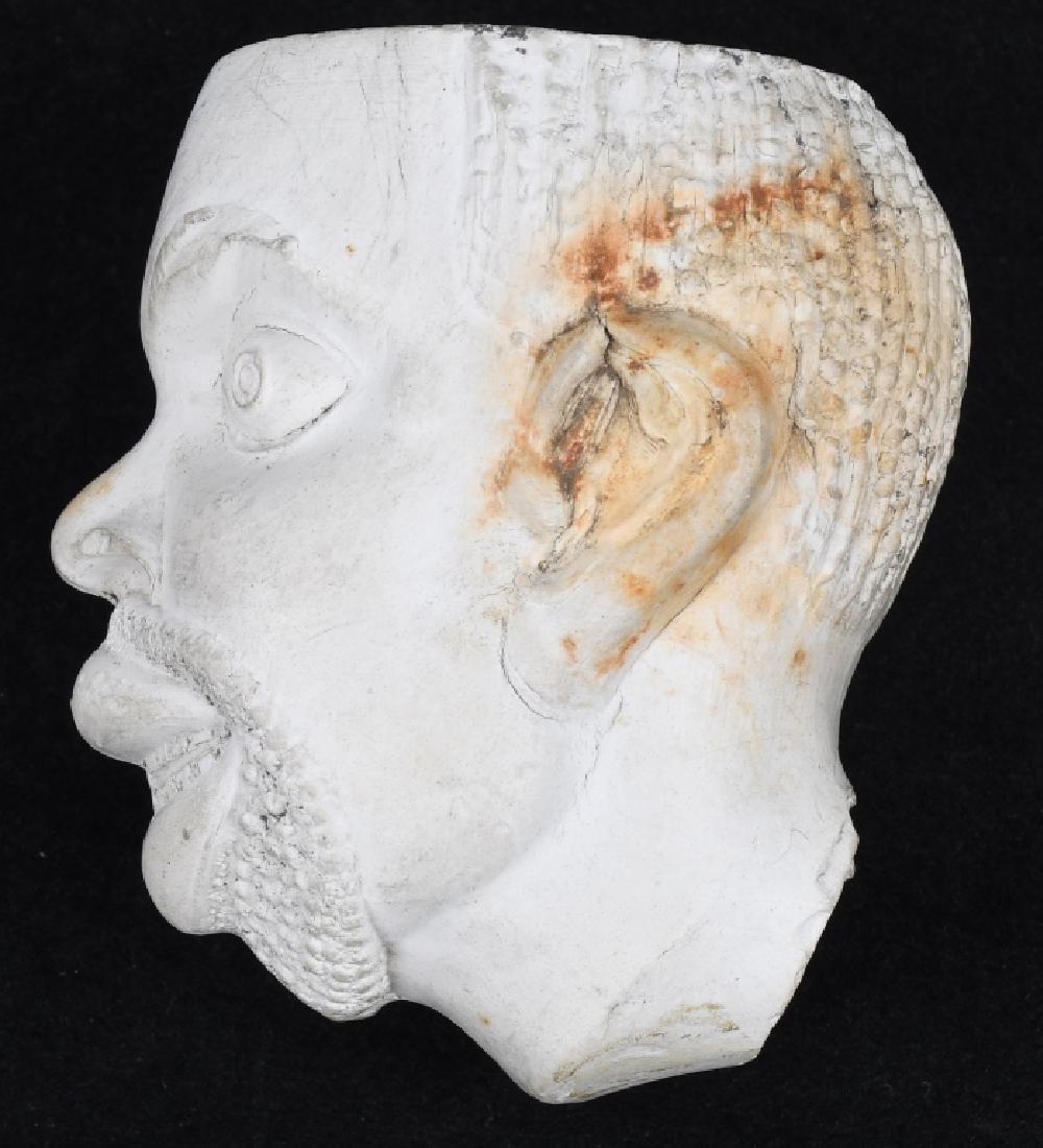 CIVIL WAR AFRICAN AMERICAN FIGURAL HEAD PIPE BOWL - 2