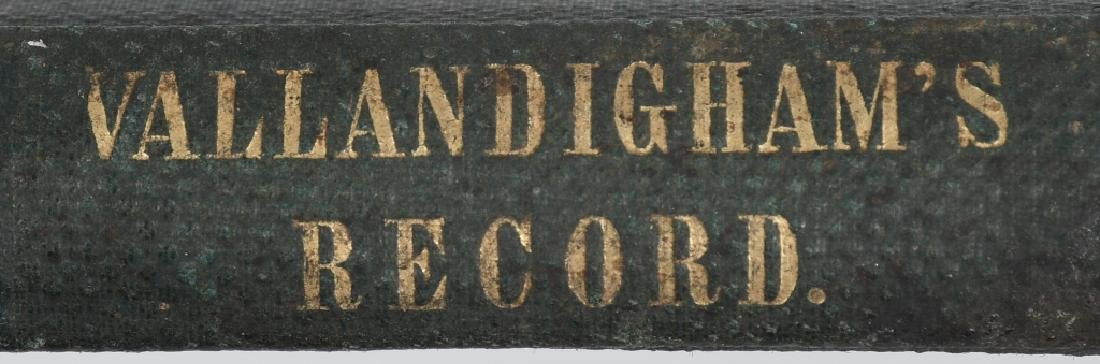 CIVIL WAR CDV CLEMENT VALLANDIGHAM & 1863 BOOK - 3