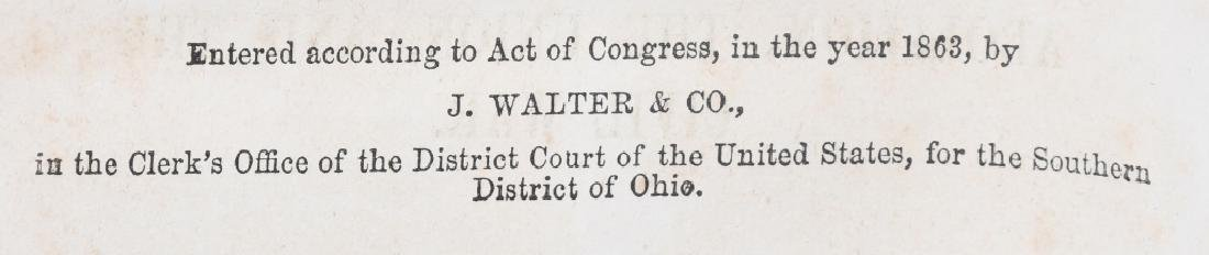 CIVIL WAR CDV CLEMENT VALLANDIGHAM & 1863 BOOK - 4