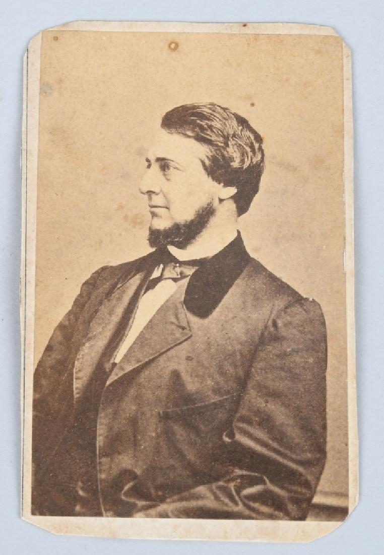 CIVIL WAR CDV CLEMENT VALLANDIGHAM & 1863 BOOK - 5