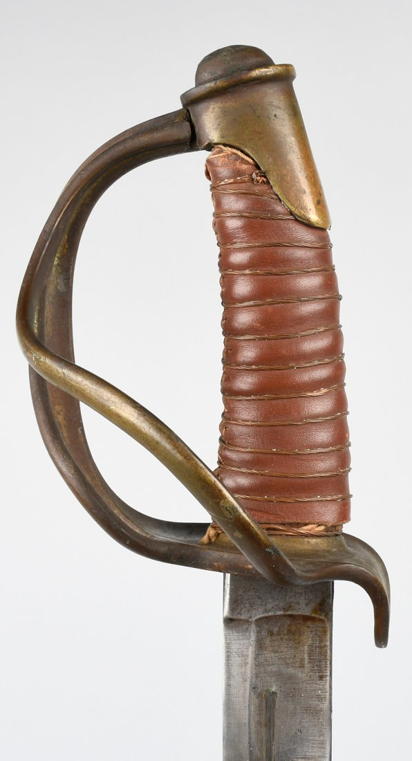 CIVIL WAR MODEL 1840 CAVALRY SWORD & SCABBARD - 2