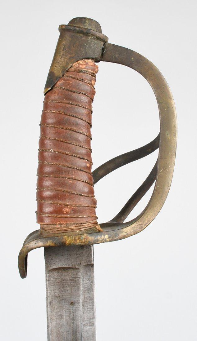 CIVIL WAR MODEL 1840 CAVALRY SWORD & SCABBARD - 3