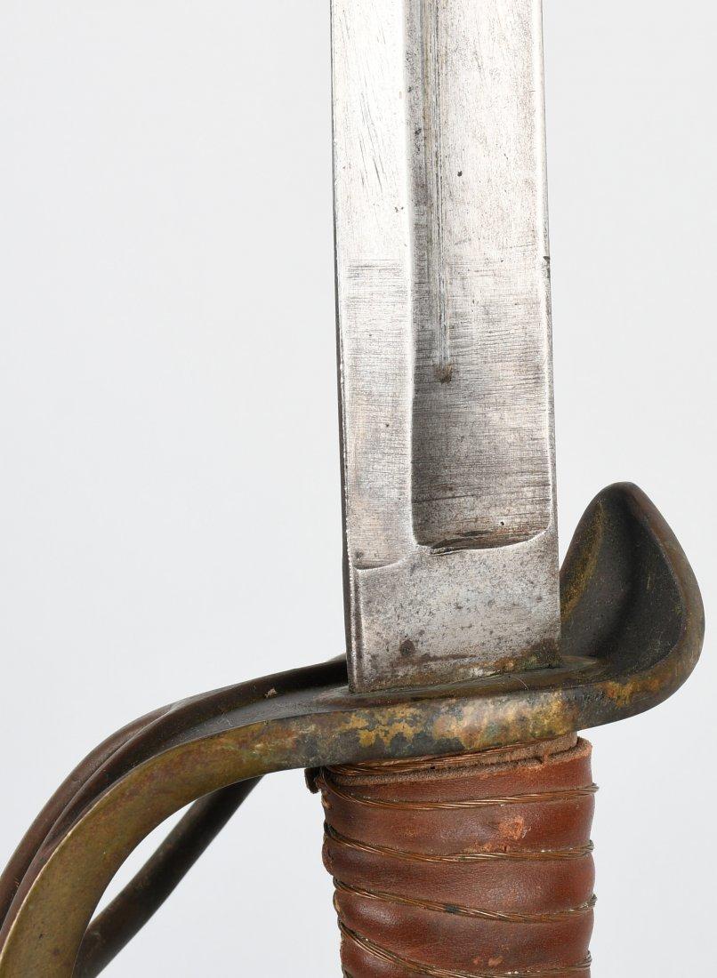 CIVIL WAR MODEL 1840 CAVALRY SWORD & SCABBARD - 5