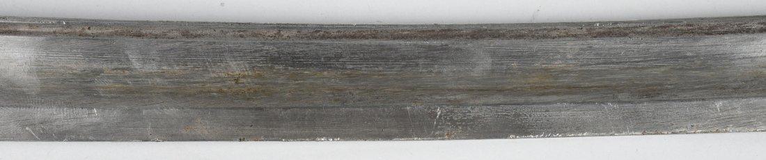CIVIL WAR MODEL 1840 CAVALRY SWORD & SCABBARD - 6