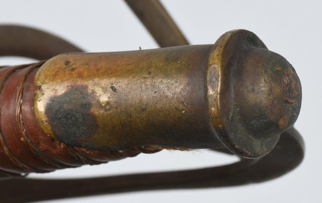 CIVIL WAR MODEL 1840 CAVALRY SWORD & SCABBARD - 8