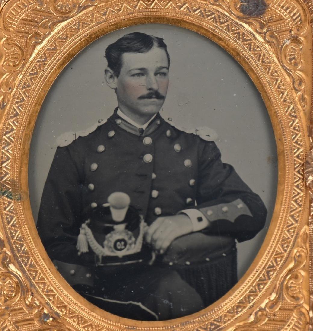 INDIAN WARS LOTBUFFALO SOLDIER DOC & MILITIA PHOTO - 3