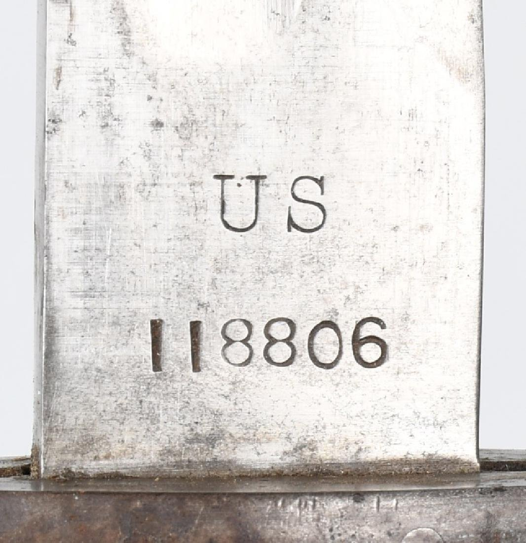 WWI U.S. M 1905 BAYONET 1907 WITH 1907 SCABBARD - 2