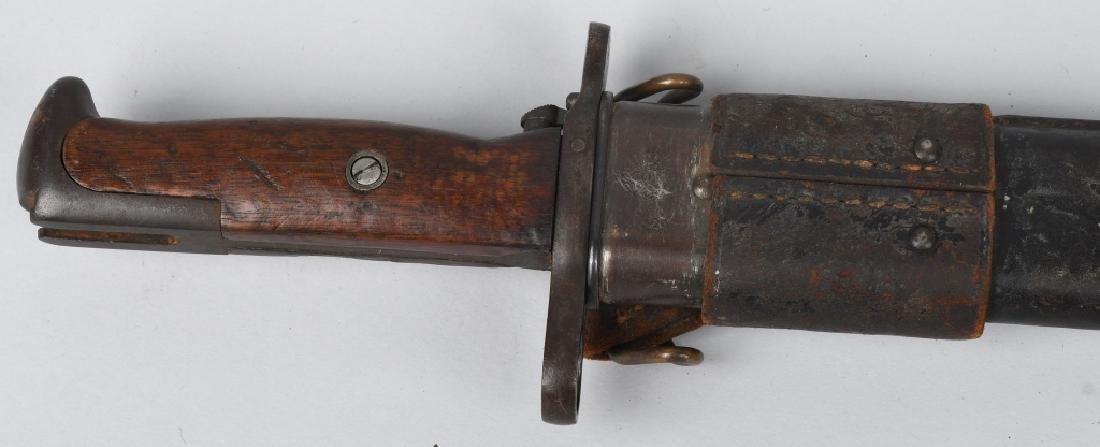 WWI U.S. M 1905 BAYONET 1907 WITH 1907 SCABBARD - 5
