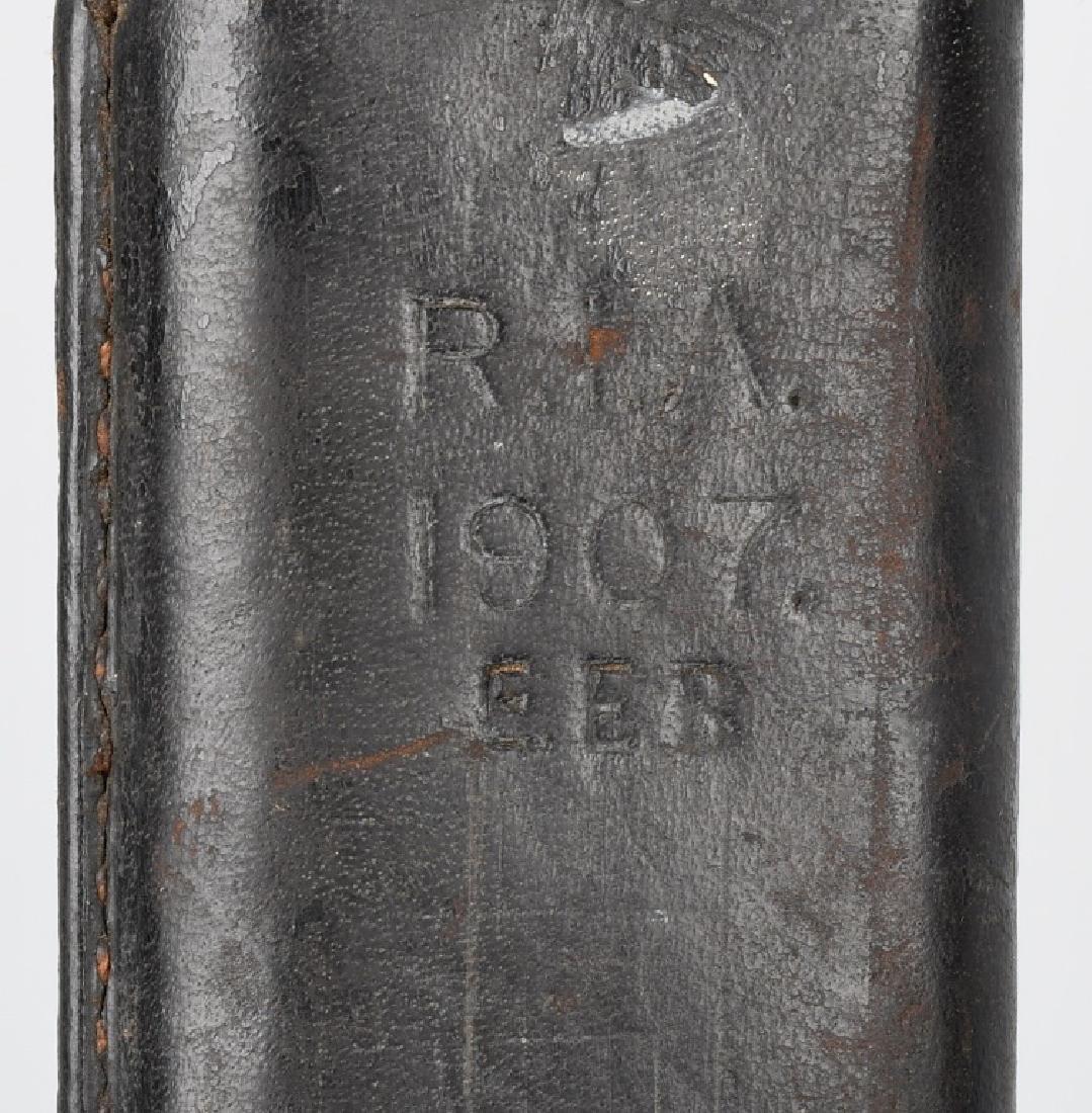 WWI U.S. M 1905 BAYONET 1907 WITH 1907 SCABBARD - 9