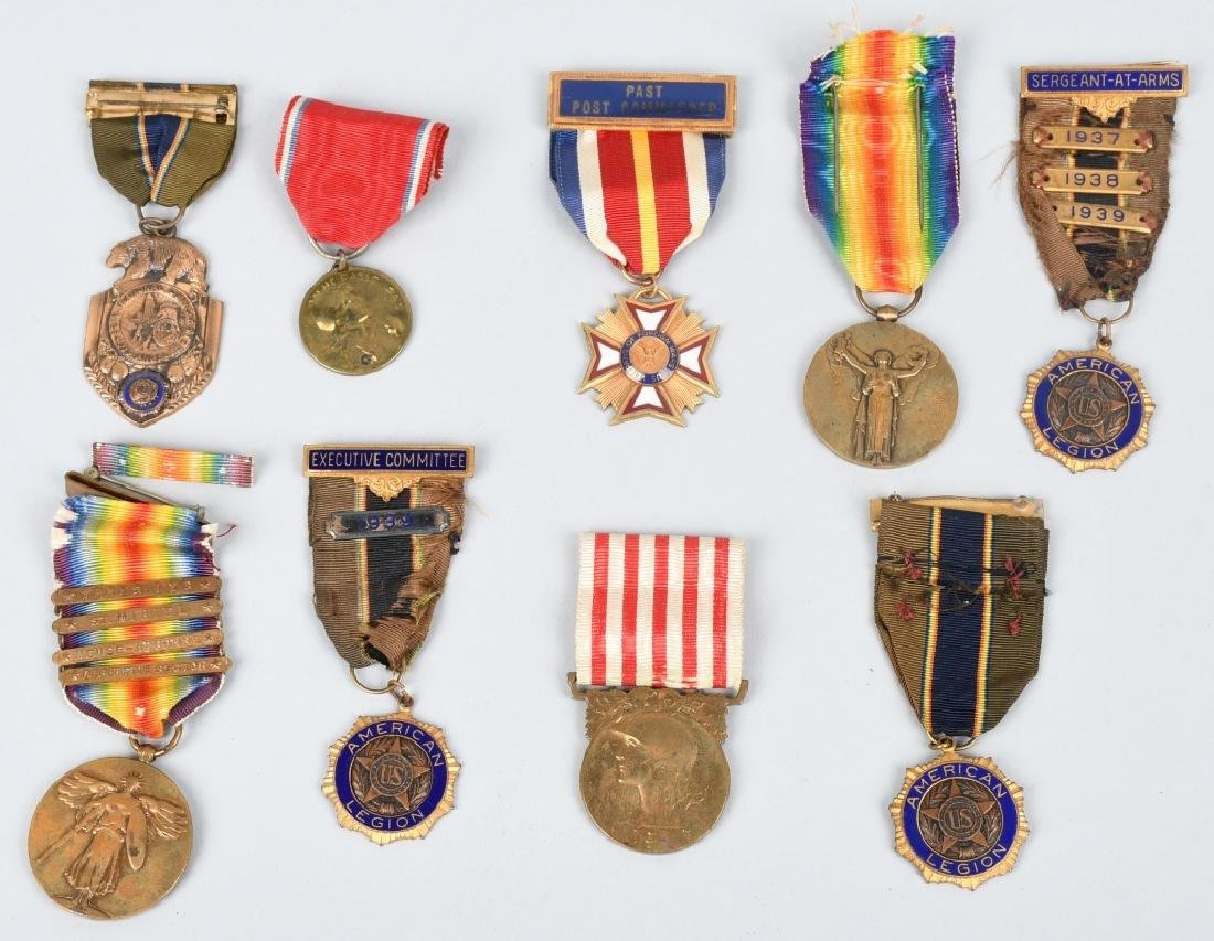 WWI U.S. ARMY MEDAL GROUP IDED