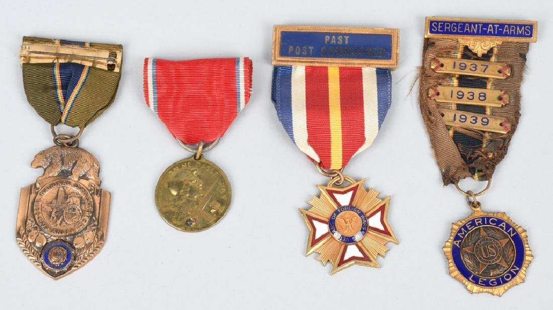 WWI U.S. ARMY MEDAL GROUP IDED - 2