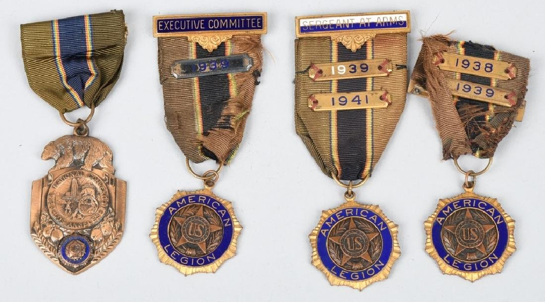 WWI U.S. ARMY MEDAL GROUP IDED - 3