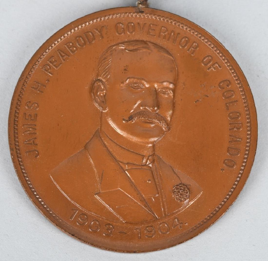 1903-04 COLORADO MINE DISTURBANCE VETERAN MEDAL - 2