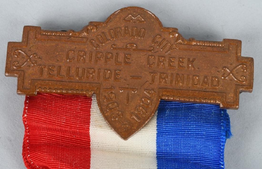 1903-04 COLORADO MINE DISTURBANCE VETERAN MEDAL - 3