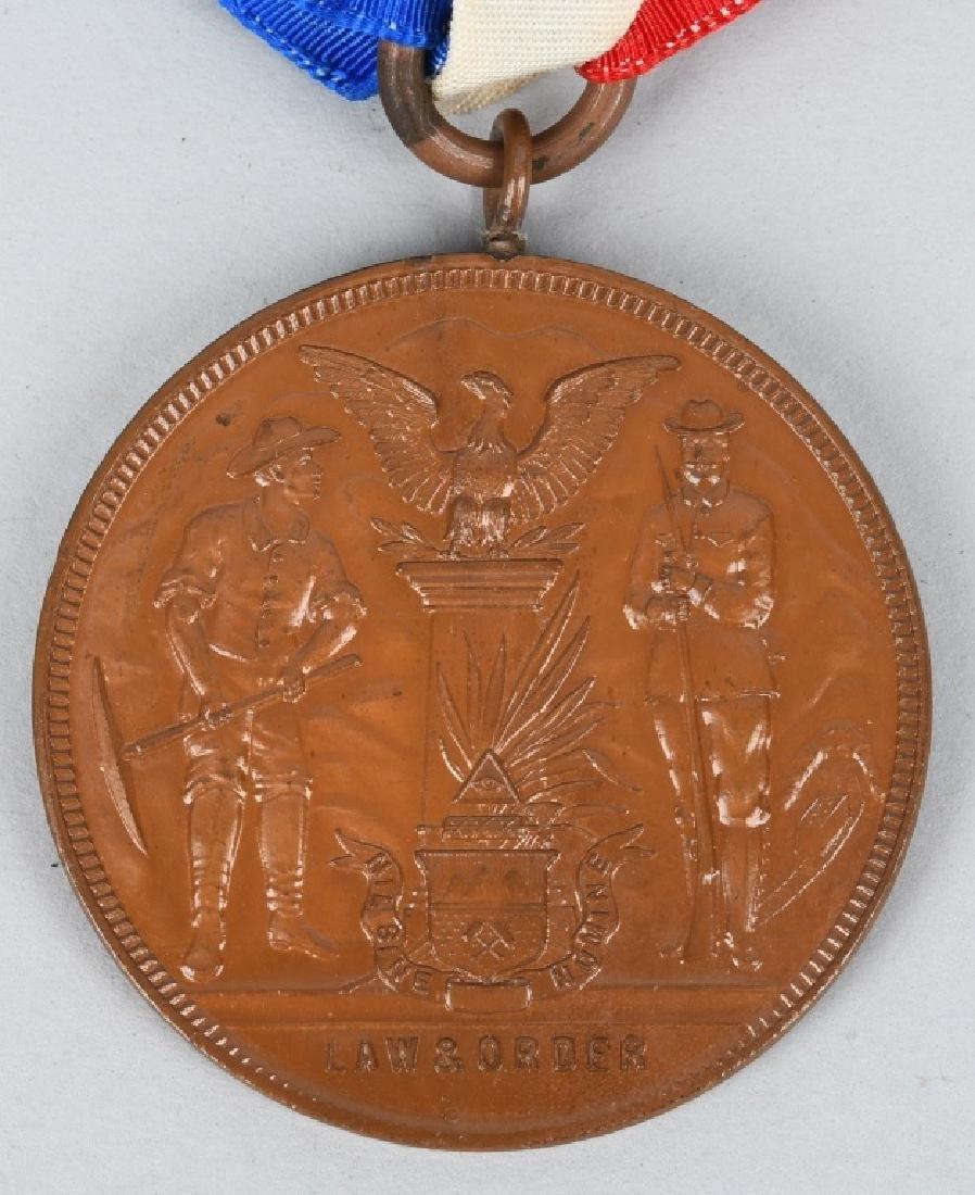 1903-04 COLORADO MINE DISTURBANCE VETERAN MEDAL - 4