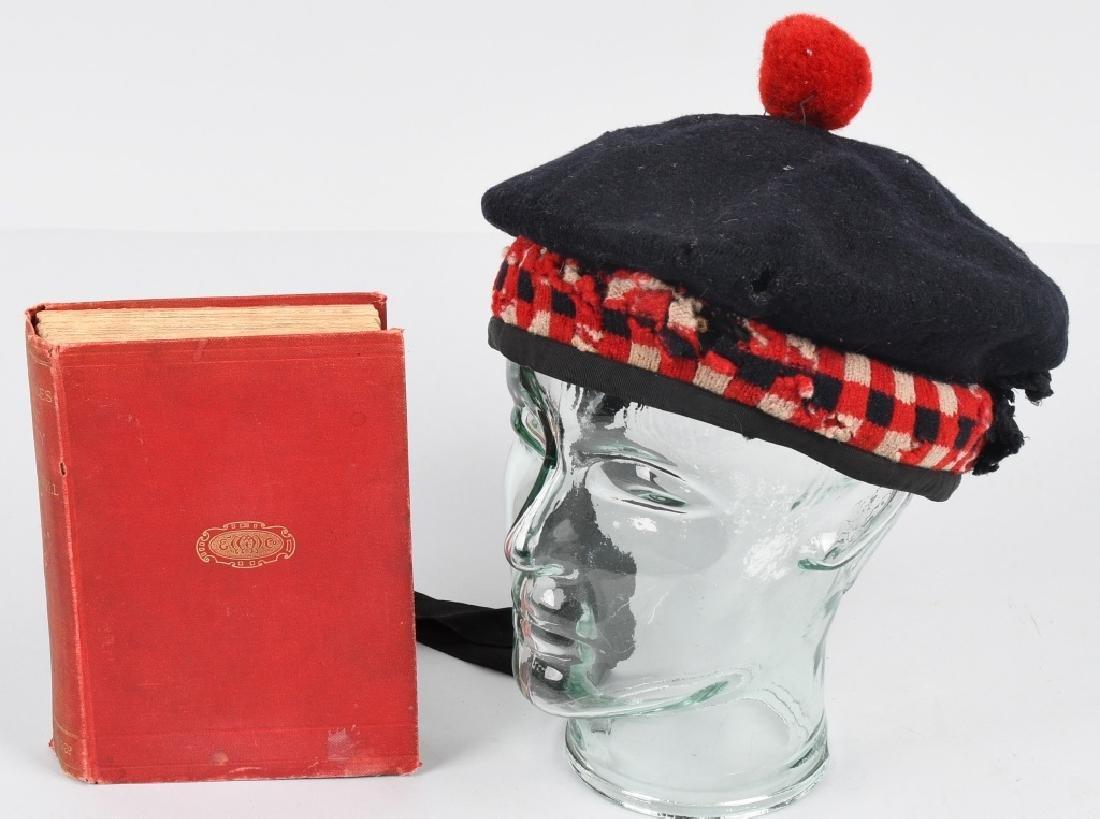 SCOTTISH BALMORAL CAP & HISTORY 1857-59 MUTINY