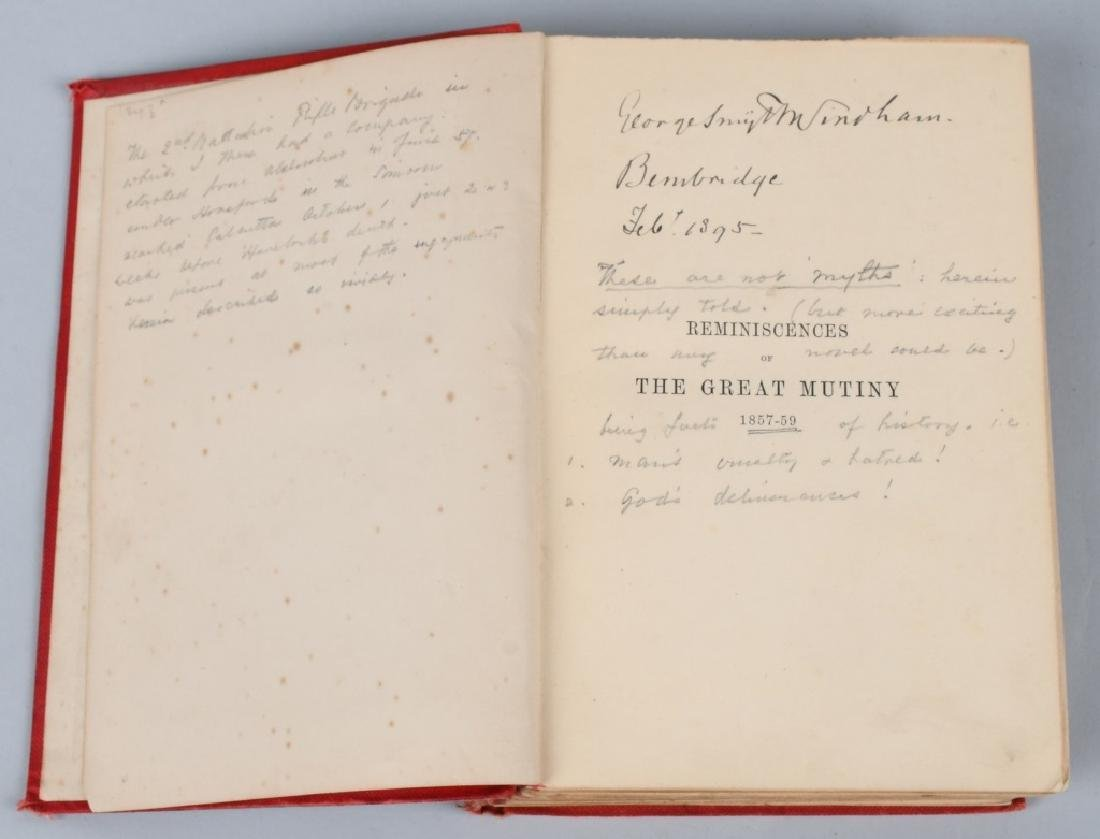 SCOTTISH BALMORAL CAP & HISTORY 1857-59 MUTINY - 2