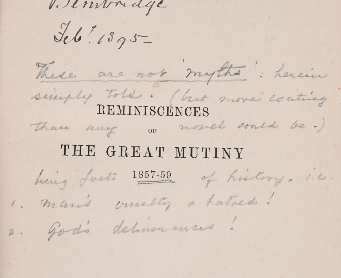 SCOTTISH BALMORAL CAP & HISTORY 1857-59 MUTINY - 4