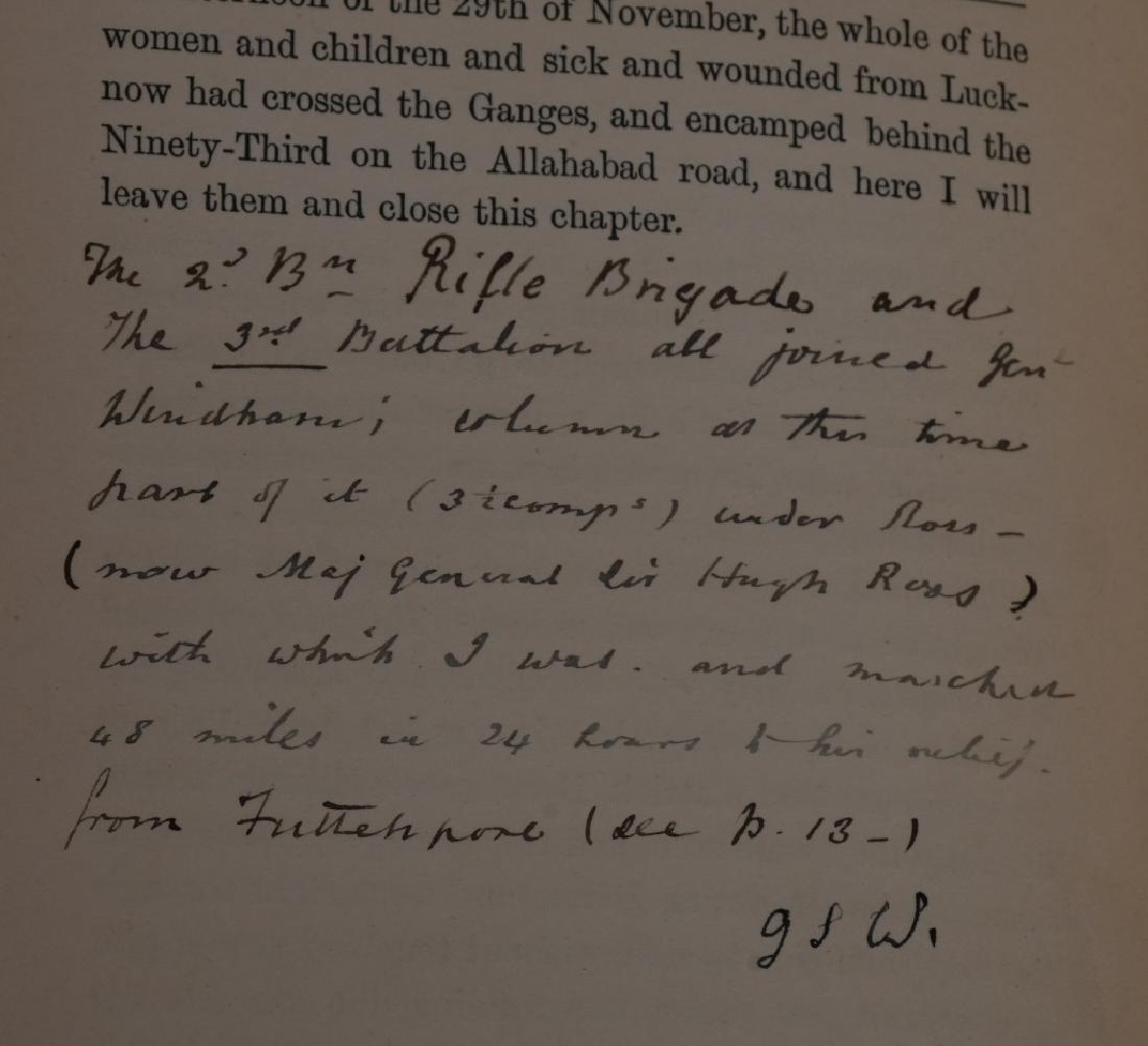 SCOTTISH BALMORAL CAP & HISTORY 1857-59 MUTINY - 6
