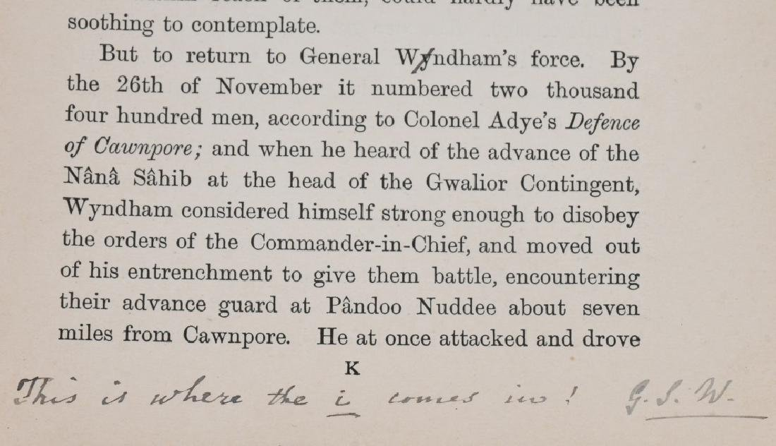 SCOTTISH BALMORAL CAP & HISTORY 1857-59 MUTINY - 7