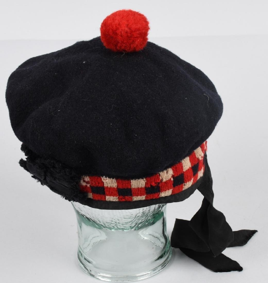 SCOTTISH BALMORAL CAP & HISTORY 1857-59 MUTINY - 9