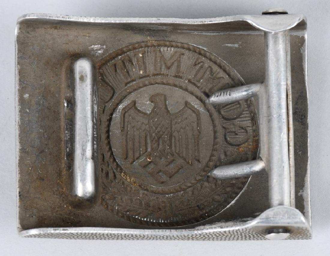 WWI & WWII NAZI GERMAN BELT BUCKLE LOT INC. HJ - 3