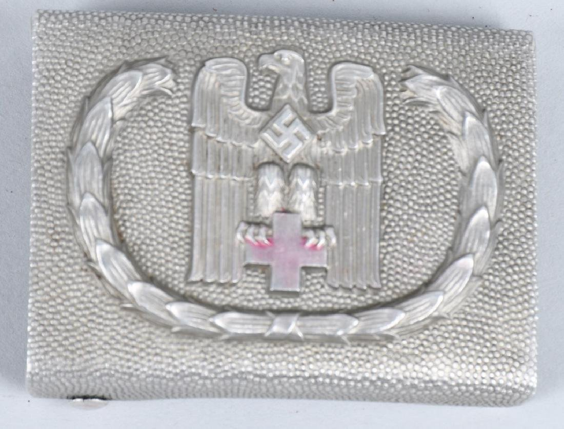 WWII NAZI GERMAN RED CROSS EM/NCO BELT BUCKLE