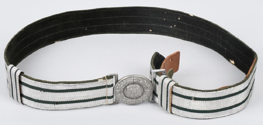 WWII NAZI GERMAN ARMY OFFICER DRESS BELT & BUCKLE