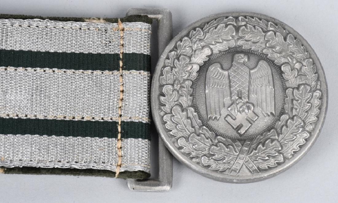 WWII NAZI GERMAN ARMY OFFICER DRESS BELT & BUCKLE - 2